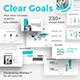 Clear Goals Premium Pitch Deck Google Slide Template - GraphicRiver Item for Sale