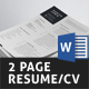 Free Download Resume/CV (2 Page) Nulled