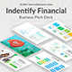 Indentify Financial Pitch Deck Powerpoint Template - GraphicRiver Item for Sale