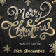 Free Download Merry Christmas - PSD Flyer Template Nulled