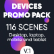 Devices Website Promo Pack - VideoHive Item for Sale