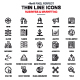 Line Business and Marketing Icons - GraphicRiver Item for Sale