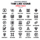Line Design Tools Icons - GraphicRiver Item for Sale