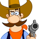 Cowboy Cartoon - GraphicRiver Item for Sale
