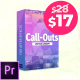 Call Outs Library   MOGRT for Premiere - VideoHive Item for Sale