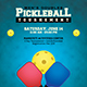 Pickleball Flyer - GraphicRiver Item for Sale