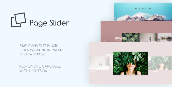 Page Slider Responsive Javascript Plugin            Nulled