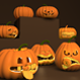 Halloween_Pumpkins_Pack - 3DOcean Item for Sale