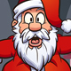 Stuck Santa Claus - GraphicRiver Item for Sale