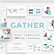 Gather Data Pitch Deck Keynote Template - GraphicRiver Item for Sale