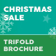 Christmas Sale 2018 Trifold Brochure - GraphicRiver Item for Sale
