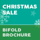 Free Download Christmas Sale 2018 Bifold / Halffold Brochure Nulled