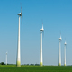 Wind turbines in front of a clear blue sky  - PhotoDune Item for Sale