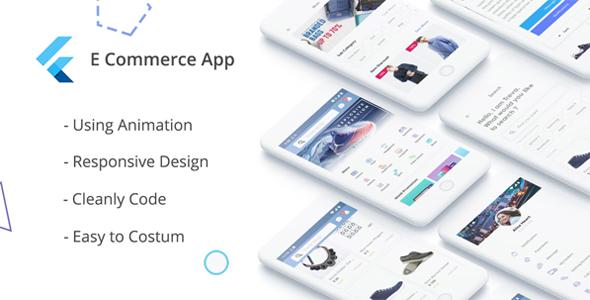 E-Commerce UI KIT using Flutter - CodeCanyon Item for Sale