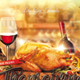 Thanksgiving Day Dinner Flyer or Invitation - GraphicRiver Item for Sale