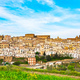 Ferrandina white old town panorama. Matera Basilicata, Italy. - PhotoDune Item for Sale
