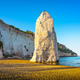 Vieste and Pizzomunno rock beach, Gargano, Apulia, Italy. - PhotoDune Item for Sale