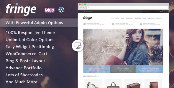 Fringe - WooCommerce Responsive Theme