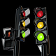 Traffic Light Plastic Transparent - GraphicRiver Item for Sale