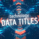 Technology Data Titles - VideoHive Item for Sale