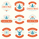 Christmas Retro Design Set - GraphicRiver Item for Sale