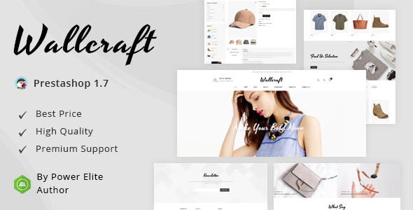 Wallcraft - Responsive Prestashop 1.7 Theme