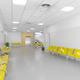 Public building waiting area. Hospital interior detail. Nobody. Horizontal - PhotoDune Item for Sale