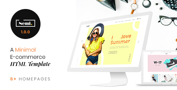 Nemi - Multi Store Responsive HTML Template Free Download | Nulled