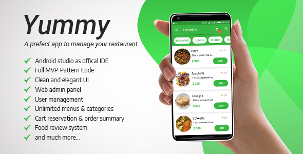 Yummy Restaurant - CodeCanyon Item for Sale