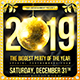 New Year Disco Flyer #1 - GraphicRiver Item for Sale