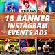 Instagram Banner Events Bundle - GraphicRiver Item for Sale