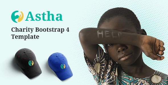 Astha – Charity Bootstrap 4 Template Free Download | Nulled