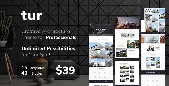 Architecture & Interior Design Tur - Architecture  & interior Design WordPress for Architecture - Portfolio Creative