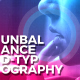 Unbalanced Typography Opener - VideoHive Item for Sale