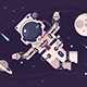 Free Download Astronaut Conquers Open Space in Spacesuit Nulled