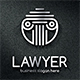 Lawyer Column Pillar Logo - GraphicRiver Item for Sale