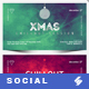 Electronic Music Party 05 - Facebook Christmas Event Cover Templates - GraphicRiver Item for Sale