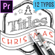 Hand Drawn Christmas Titles Premiere Pro - VideoHive Item for Sale