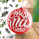Christmas Tree Ball Animated Mockup - GraphicRiver Item for Sale