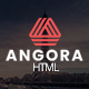 Free Download Angora - Responsive One Page Parallax Template Nulled
