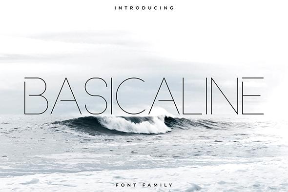 Basicaline Font Family - Sans Serif - Sans-Serif Fonts