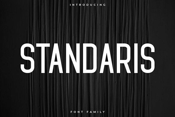 Standaris Font Family - Sans Serif - Sans-Serif Fonts