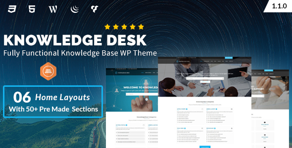 Knowledgedesk - Knowledge Base WordPress Theme - Software Technology