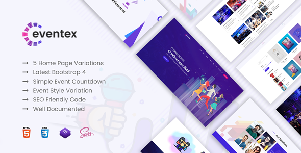 Eventex - Responsive WordPress Events Theme