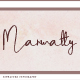 Marwatty Signature Typography - GraphicRiver Item for Sale