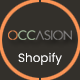 Free Download Occasion – Sectioned Responsive Shopify Theme for Supermarket, Large store, Groceries, Aliexpress Nulled