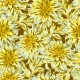 Seamless Pattern with Fluffy Yellow Dahlias - GraphicRiver Item for Sale