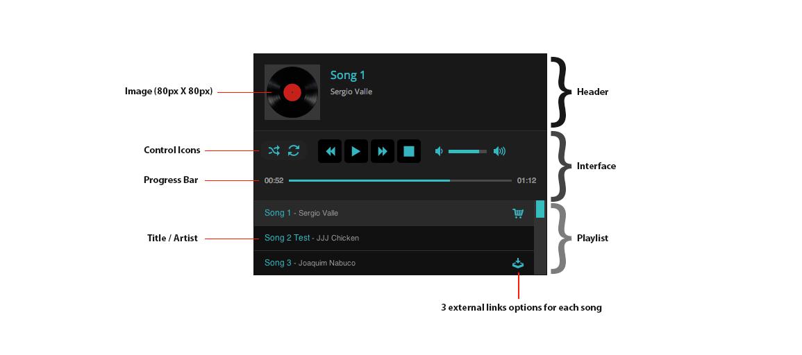 aplikasi pemutar musik audio player