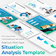 Situation Analysis Pitch Deck Powerpoint Template - GraphicRiver Item for Sale