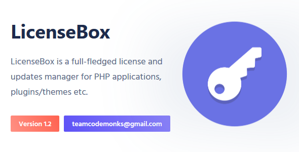LicenseBox | PHP License and Updates Manager - CodeCanyon Item for Sale